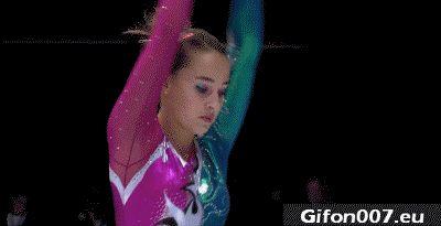 Super, Gymnastics, Videos, Gifs, Girl, Woman