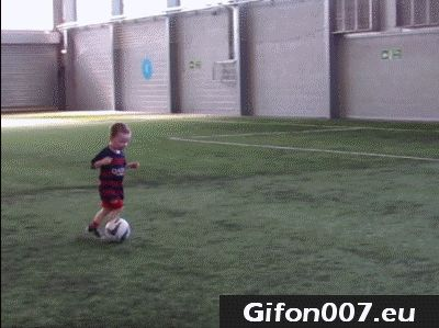 football, boy, children, fall, fail, ball