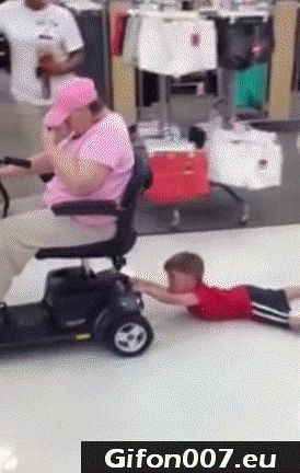 old people, children, cart for the elderly, pull