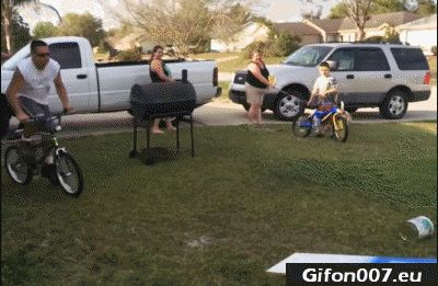 Bike Fail, Fall Down, Jump, Gifs, Gif, Man, Funny