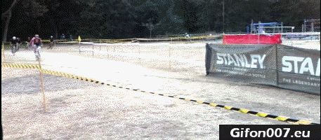 Riding a Bike, Race on Wheels, Gif, Fail, Jump
