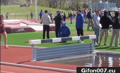 Olympiad, Gif, Fail, Water, Woman, Jumping