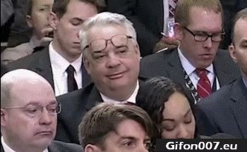 Funny Man, Put on Glasses, Video, Gif