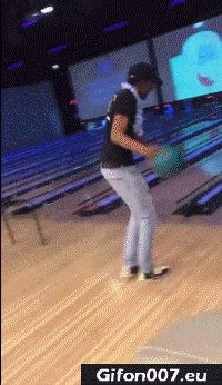 Funny Bowling Fail, Youtube Video, Gif