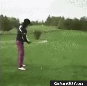 Funny Video, Golf, Fail, Gif