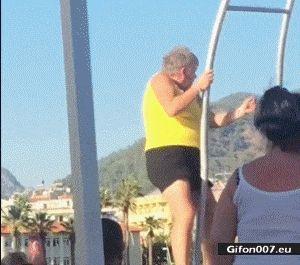 Funny Video, Grandma, Dancing, Gif
