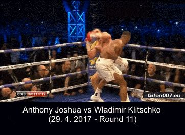 Joshua vs Klitschko, Video, 29.4.2017, Round 11, Gif (2)