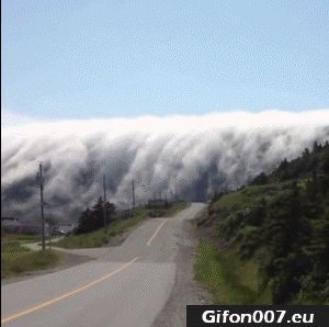 Nice Clouds, Nature, Video Youtube, Gif