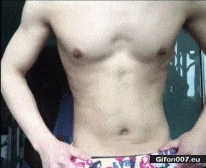 Belly, Move, Video, Gif