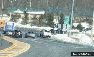 Car Accident, Video, Gif