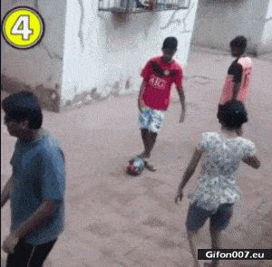 Funny Video, Ball, Fail, Laugh, Gif
