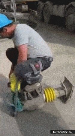 Funny Video, Bricklayer, Tool, Gif