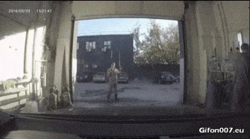 Funny Video, Hand Car Wash, Fail, Gif