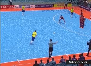 Indoor Soccer, Penalty, Video, Gif