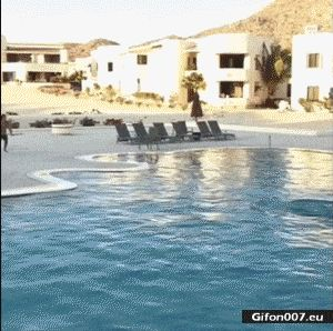 Super Video, Surfing, Swimming Pool, Gif