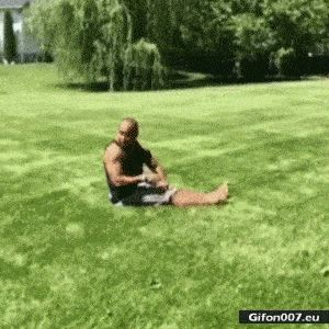 Video, Great Guy, Man, Loop, Somersault, Gif