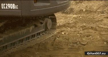 Funny Video, Baby Excavator, Egg, Gif