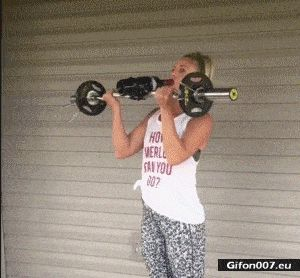 Funny Video, Strengthening, Drinking, Gif