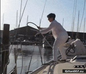 Funny Video, Fail, Boat, Gif
