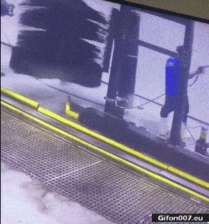 Funny Video, Car Wash, Fail, Gif